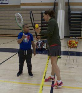 Tennis Lesson - Horizons GFA First Saturday